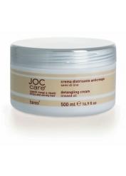 Barex Выпрямляющий крем - кондиционер для въющихся волос с маслом семени льна