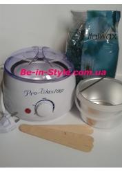 Набор для депиляции деликатных зон с  воском Italwax,азулен
